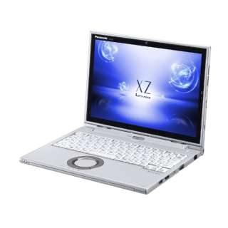レッツノート XZ 12.0型タッチ対応ノートPC[Office付き・Win10 Home・Core i5・SSD 128GB・メモリ 8GB]2018年春モデル CF-XZ6LDAPR シルバー