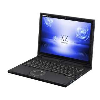 レッツノート XZ【LTE対応 SIMフリー】12.0型タッチ対応ノートPC[Office付き・Win10 Pro・Core i5・SSD 256GB・メモリ 8GB・Nano SIM対応]2018年春モデル CF-XZ6LFKQR ブラック