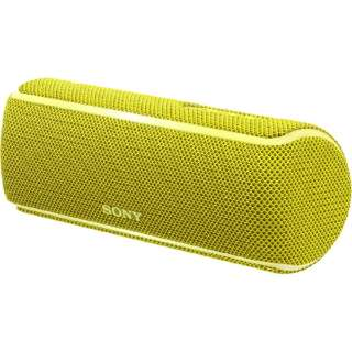 ワイヤレスポータブルスピーカー SRS-XB21YC [Bluetooth対応]