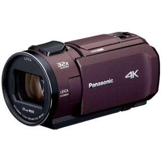 SD対応 64GBメモリー内蔵4Kビデオカメラ HC-VX1M ブラウン