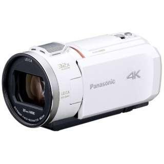 SD対応 64GBメモリー内蔵4Kビデオカメラ HC-VX1M ホワイト