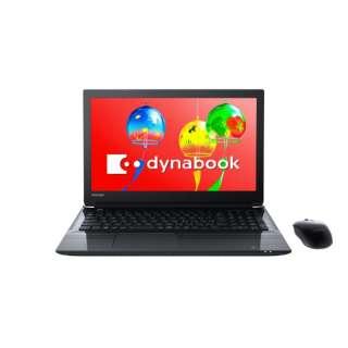 15.6型ノートPC[Office付き・Win10 Home・Core i7・HDD 1TB・メモリ 8GB] dynabook T75/GB プレシャスブラック PT75GBP-BEA2 (2018年夏モデル) PT75GBP-BEA2 プレシャスブラック