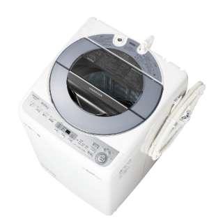 全自動洗濯機 (洗濯8.0kg) ES-GV8C-S シルバー