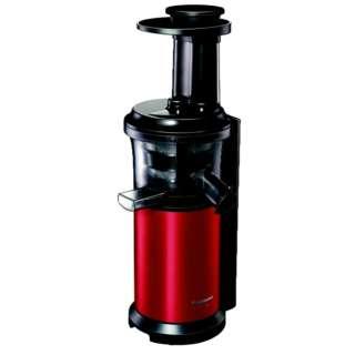 スロージューサー 「ビタミンサーバー」 MJ-L400-R メタリックレッド