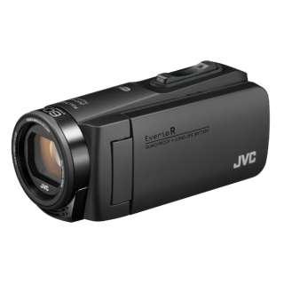 SD対応 64GBメモリー内蔵 防水・防塵・耐衝撃フルハイビジョンビデオカメラ(マットブラック) GZ-RX680-B