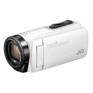 SD対応 32GBメモリー内蔵 防水・防塵・耐衝撃フルハイビジョンビデオカメラ(シャインホワイト) GZ-R480-W
