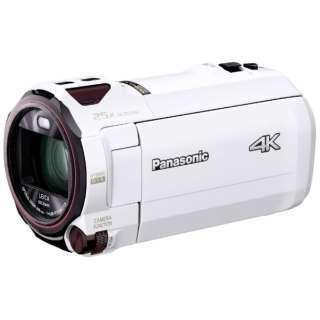 SD対応 64GBメモリー内蔵4Kビデオカメラ HC-VX990M ホワイト