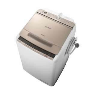 全自動洗濯機 (洗濯8.0kg) BW-V80C シャンパン