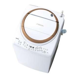 洗濯乾燥機 (洗濯9.0kg/乾燥4.5kg) AW-9V7-T ブラウン 【洗濯槽自動お掃除・ヒーター乾燥機能付】