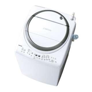 洗濯乾燥機 (洗濯8.0kg/乾燥4.5kg) AW-8V7-S シルバー 【洗濯槽自動お掃除・ヒーター乾燥機能付】