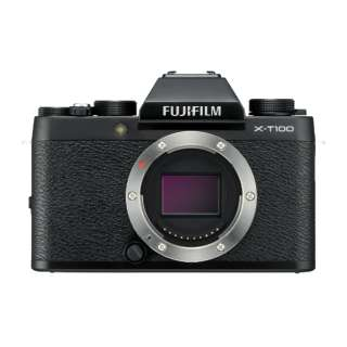 FUJIFILM X-T100【ボディ(レンズ別売)】(ブラック/ミラーレス一眼カメラ)