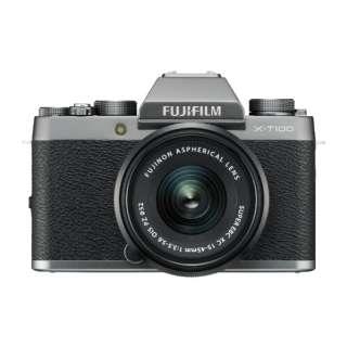 FUJIFILM X-T100【レンズキット】(ダークシルバー/ミラーレス一眼カメラ)