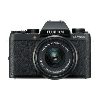 FUJIFILM X-T100【レンズキット】(ブラック/ミラーレス一眼カメラ)