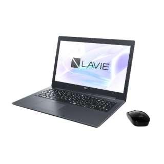 LAVIE Note Standard 15.6型ノートPC[Office付き・Win10 Home・Celeron・HDD 1TB・メモリ 4GB] PC-NS150KAB カームブラック