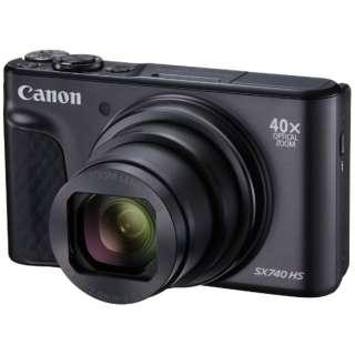 コンパクトデジタルカメラ PowerShot(パワーショット) SX740 HS(ブラック)
