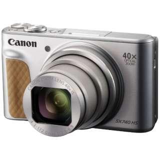 コンパクトデジタルカメラ PowerShot(パワーショット) SX740 HS(シルバー)