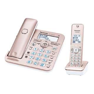 VE-GZ51DL 電話機 RU・RU・RU(ル・ル・ル) ピンクゴールド [子機1台 /コードレス]