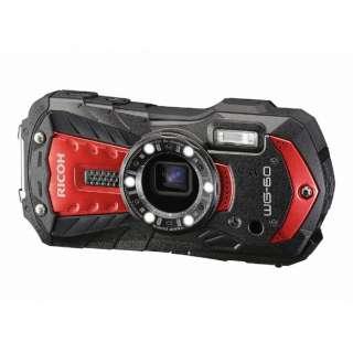 防水コンパクトデジタルカメラ RICOH WG-60(レッド) WG-60 レッド [防水+防塵+耐衝撃]