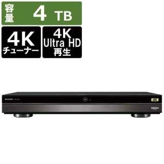 4B-C40AT3 ブルーレイレコーダー [4TB /3番組同時録画 /BS・CS 4Kチューナー内蔵]