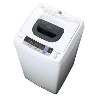NW-50C 全自動洗濯機 ピュアホワイト [洗濯5.0kg /上開き]