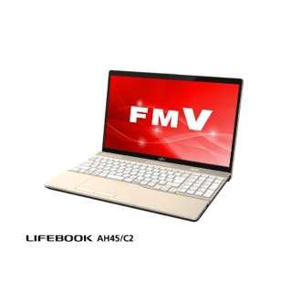 FMVA45C2G2 ノートパソコン LIFEBOOK AH45/C2 シャンパンゴールド [15.6型 /intel Core i3 /HDD:1TB /メモリ:4GB]