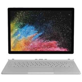 HNL-00024 Windowsタブレット ノートパソコン Surface Book 2  (サーフェスブック2) シルバー [13.5型 /intel Core i7 /SSD:512GB /メモリ:16GB /2019年1月モデル]