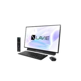 LAVIE Desk All-in-one(DA970/MAB ダブルチューナ搭載) デスクトップパソコン [27型 /CPU:Core i7 /HDD:3TB /Optane:16GB /メモリ:8GB /2019年春モデル] PC-DA970MAB ファインブラック [27型 /HDD:3TB /Optane:16GB /メモリ:8GB /2019年春モデル]