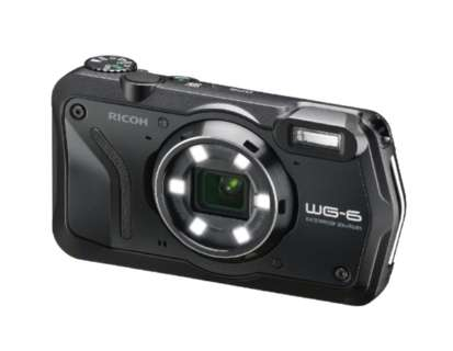 WG-6 コンパクトデジタルカメラ ブラック [防水+防塵+耐衝撃]