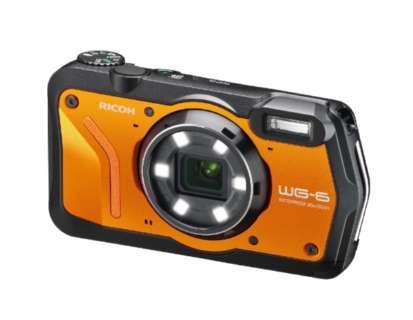 WG-6 コンパクトデジタルカメラ オレンジ [防水+防塵+耐衝撃]