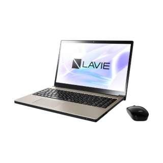PC-NX850NAG ノートパソコン LAVIE Note NEXT クレストゴールド [15.6型 /intel Core i7 /HDD:1TB /SSD:256GB /メモリ:8GB /2019年5月モデル]