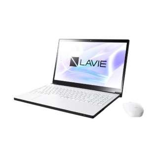 PC-NX750NAW ノートパソコン LAVIE Note NEXT プラチナホワイト [15.6型 /intel Core i7 /HDD:1TB /Optane:16GB /メモリ:8GB]