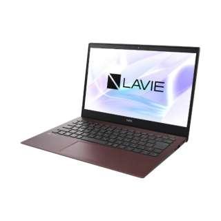 PC-PM750NAR ノートパソコン LAVIE Pro Mobile クラシックボルドー [13.3型 /intel Core i7 /SSD:512GB /メモリ:8GB /2019年5月モデル]