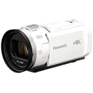 HC-VX2M-W ビデオカメラ ピュアホワイト [4K対応]