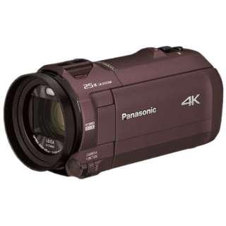 HC-VX992M-T ビデオカメラ カカオブラウン [4K対応]