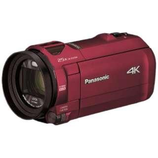 HC-VX992M-R ビデオカメラ アーバンレッド [4K対応]