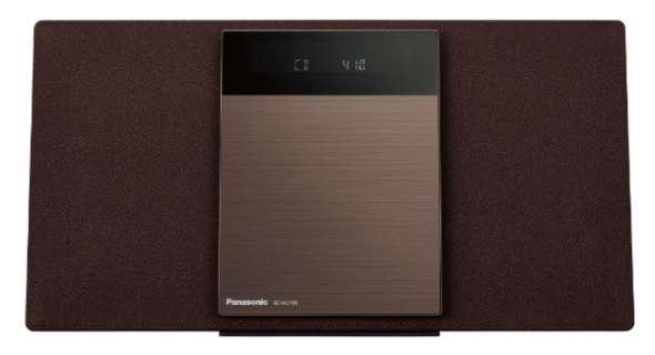 【ワイドFM対応】Bluetooth対応 ミニコンポ(ブラウン) SC-HC410-T ブラウン [ワイドFM対応 /Bluetooth対応]