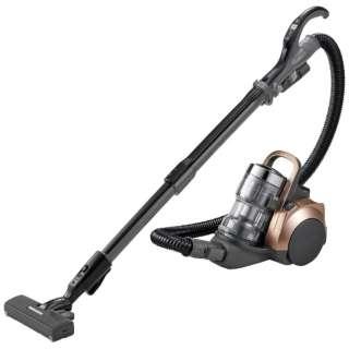 【自走式ブラシ搭載】サイクロン式掃除機「プチサイクロン」 MC-SR37G-N ブロンズ