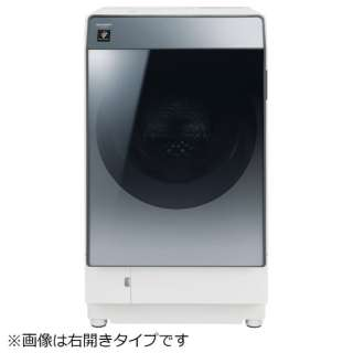 [左開き] ドラム式洗濯乾燥機 (洗濯11.0kg/乾燥6.0kg) ES-W112-SL シルバー系 【ヒートポンプ乾燥機能付】