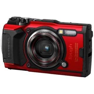 コンパクトデジタルカメラ Tough(タフ) TG-6 レッド [防水+防塵+耐衝撃]