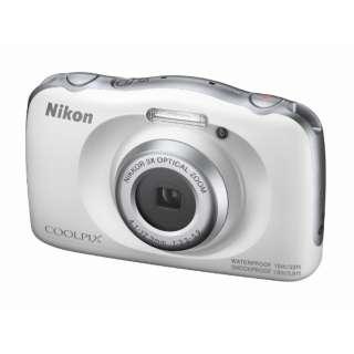 コンパクトデジタルカメラ COOLPIX(クールピクス) W150WH ホワイト [防水+防塵+耐衝撃]