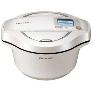 水なし自動調理鍋 「ヘルシオ ホットクック」(2.4L) KN-HW24E-W ホワイト系