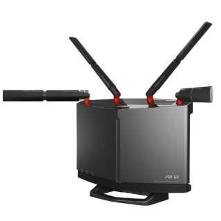 無線LANルータ 親機単体 [無線ax/ac/n/a/g/b・有線LAN/WAN・Android/iOS/Mac/Win]4803+1147Mbpsルータ エアステーション WXR-5950AX12 チタニウムグレー