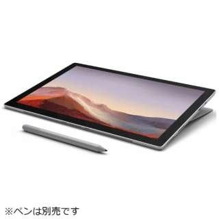 Surface Pro7 [12.3型 /Office付き /Win10 Home /SSD 128GB /メモリ 4GB /Intel Core i3 /2019年] VDH-00012 プラチナ
