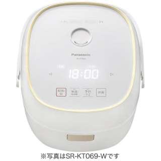 IH炊飯ジャー (3.5合) SR-KT069-W ホワイト