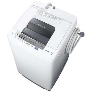 全自動洗濯機 (洗濯7.0kg)「白い約束」 NW-70E-W ピュアホワイト