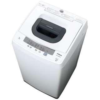 全自動洗濯機 (洗濯5.0kg)「白い約束」 NW-50E-W ピュアホワイト
