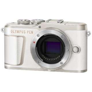 PEN E-PL10【ボディ(レンズ別売)】(ホワイト/ミラーレス一眼カメラ)