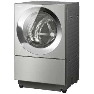 [左開き]ドラム式洗濯乾燥機 (洗濯10.0kg/5.0乾燥kg)「キューブル」 NA-VG2400L-X プレミアムステンレス  【洗濯槽自動お掃除・ヒーター乾燥機能付】