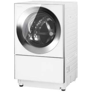 [左開き]ドラム式洗濯乾燥機 (洗濯10.0kg/5.0乾燥kg)「キューブル」 NA-VG1400L-S シルバーステンレス  【洗濯槽自動お掃除・ヒーター乾燥機能付】