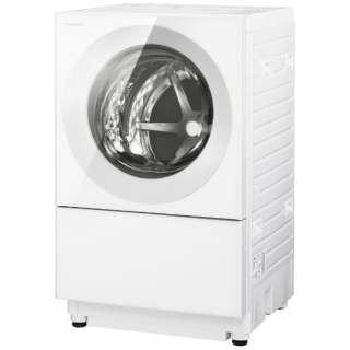 [左開き]ドラム式洗濯乾燥機 (洗濯10.0kg/5.0乾燥kg)「キューブル」 NA-VG1400L-W パールホワイト  【洗濯槽自動お掃除・ヒーター乾燥機能付】